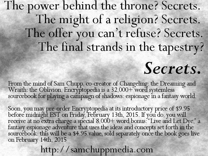 Teaser Ad #2: Announcing Encryptopedia
