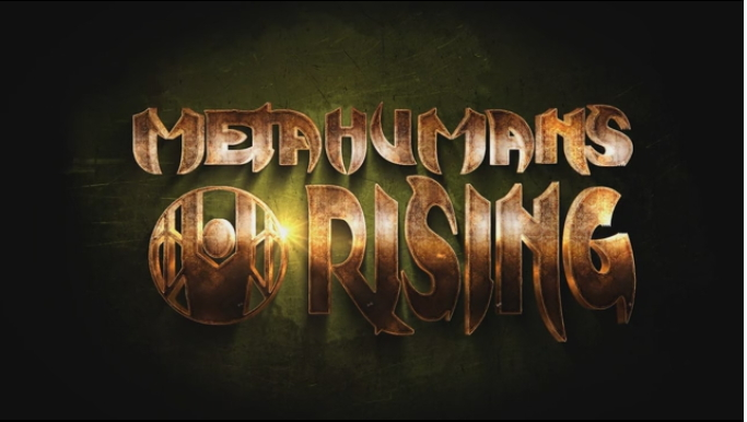 Metahumans Rising Logo graphic